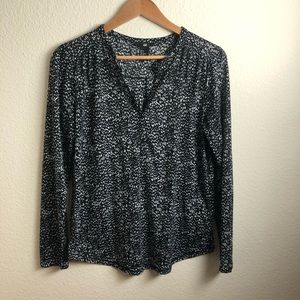 H&M | Spotted Blouse